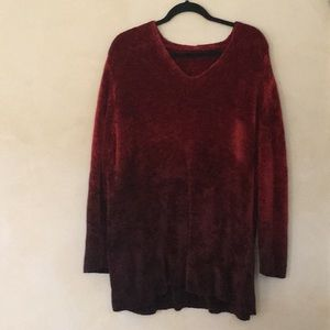 Plush Knit Long Sleeve Top